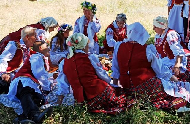 Дожинки в Белоруссии фото
