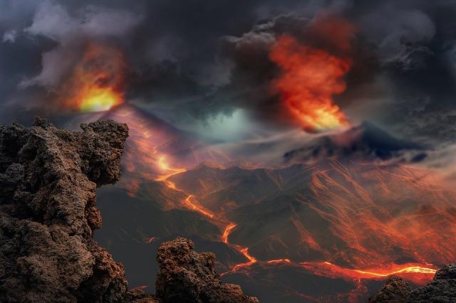 вулкан рассказ детям