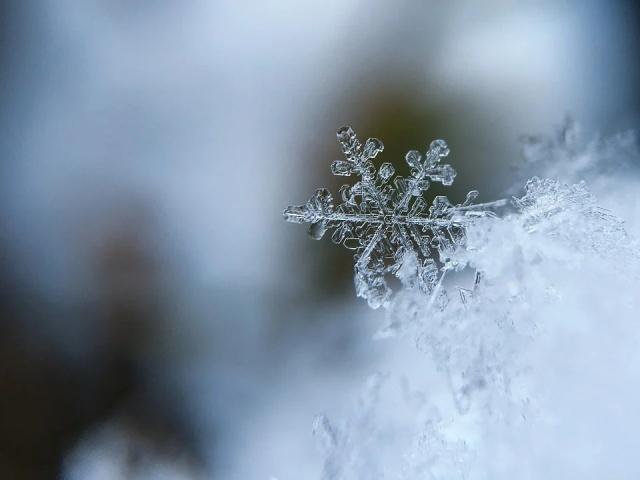 про снег детям