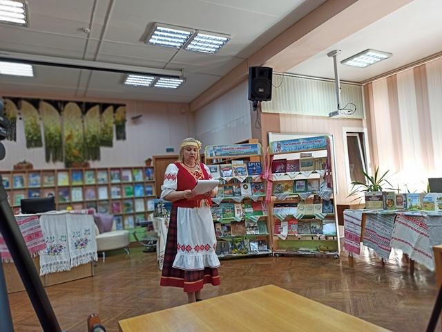 Открытие тематической книжной выставки в Николаеве «Мой родны кут, як ты мне мілы»