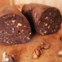шоколадная колбаска рецепт