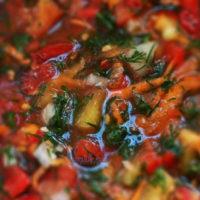 заготовка овощей с солью на зиму