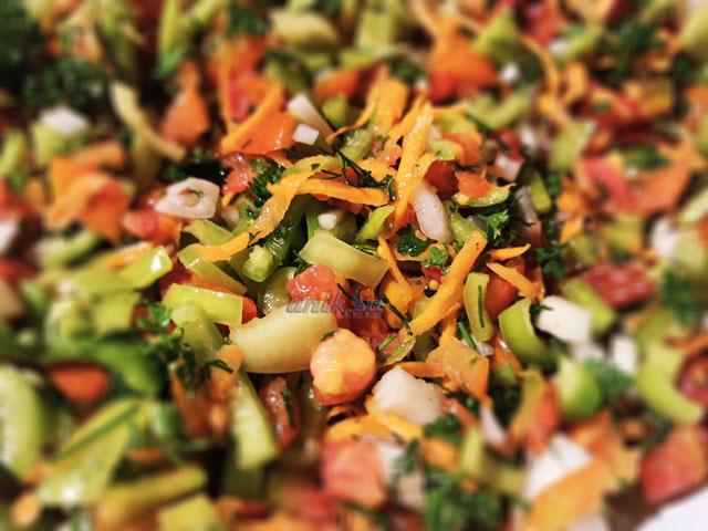 заготовка овощей на зиму с солью